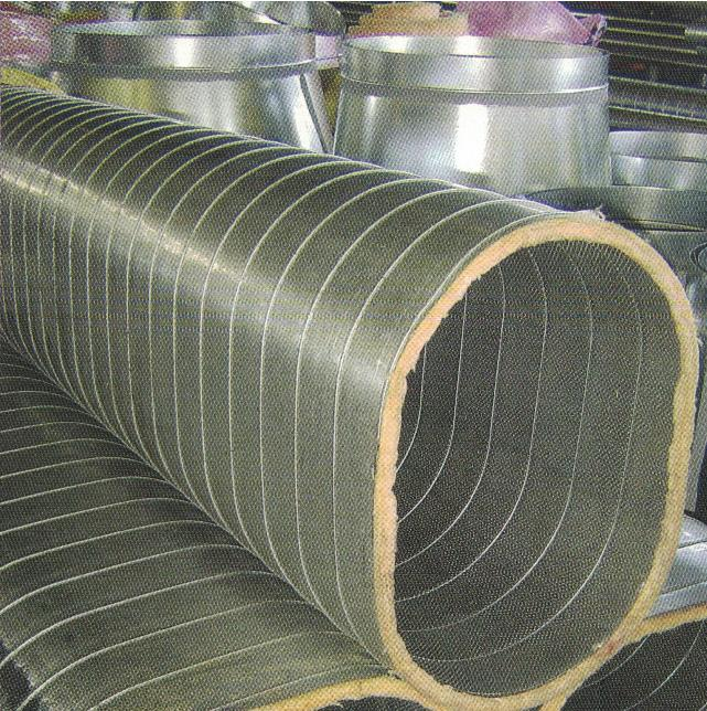Insulated Air Conditioning Duct Nq Pipe Duct
